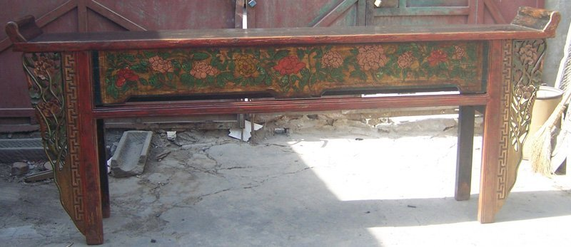 2:Large Antique Alter Table