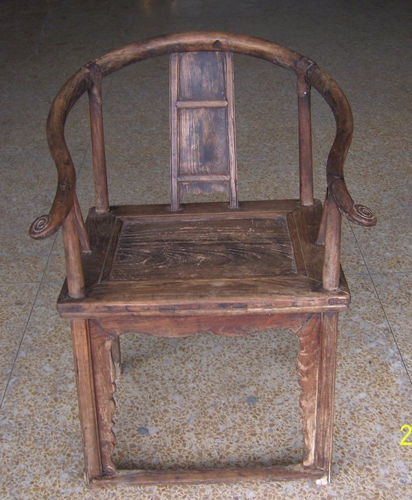 15: Single Antique Chair