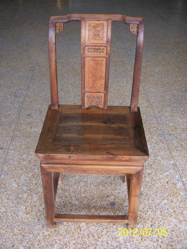 16: Antique Lady Chair