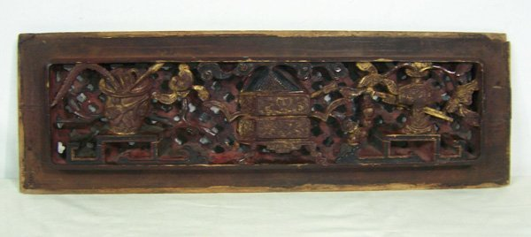 24: Antique Nanmuwood Carving Board
