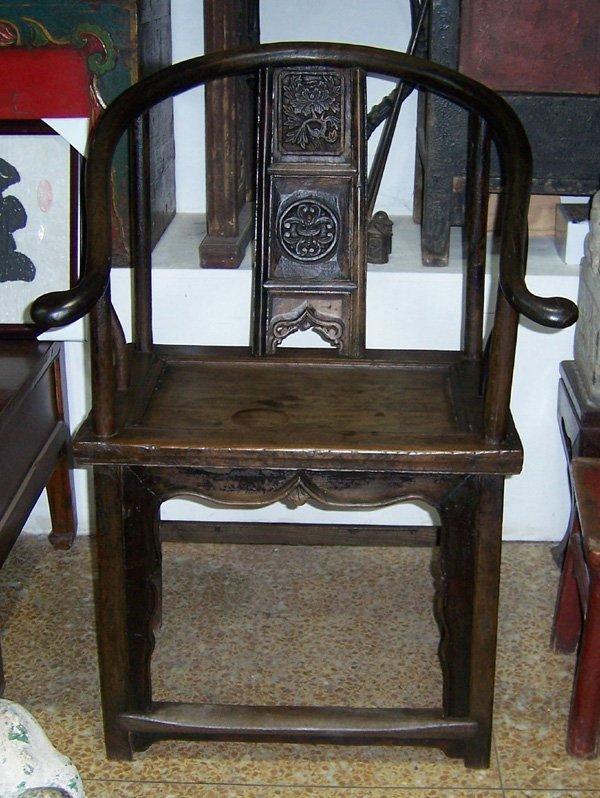 554: Antique  Single Chair