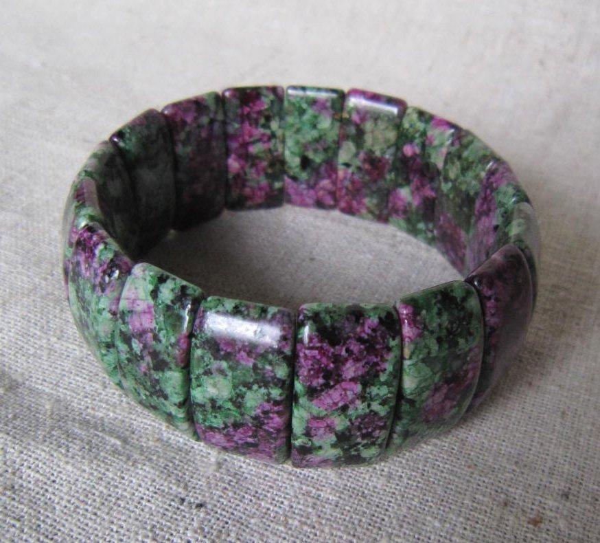 Epidote Bracelet