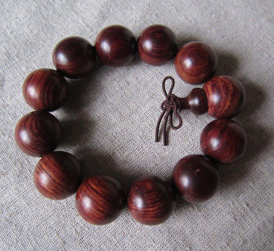 Huanghuali beads bracelet
