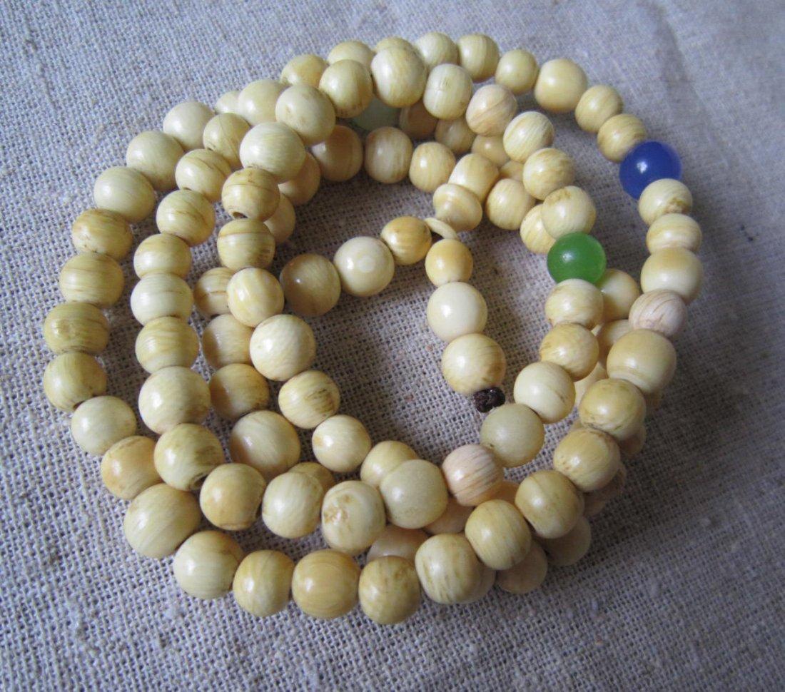 Antique Ivory Buddha beads