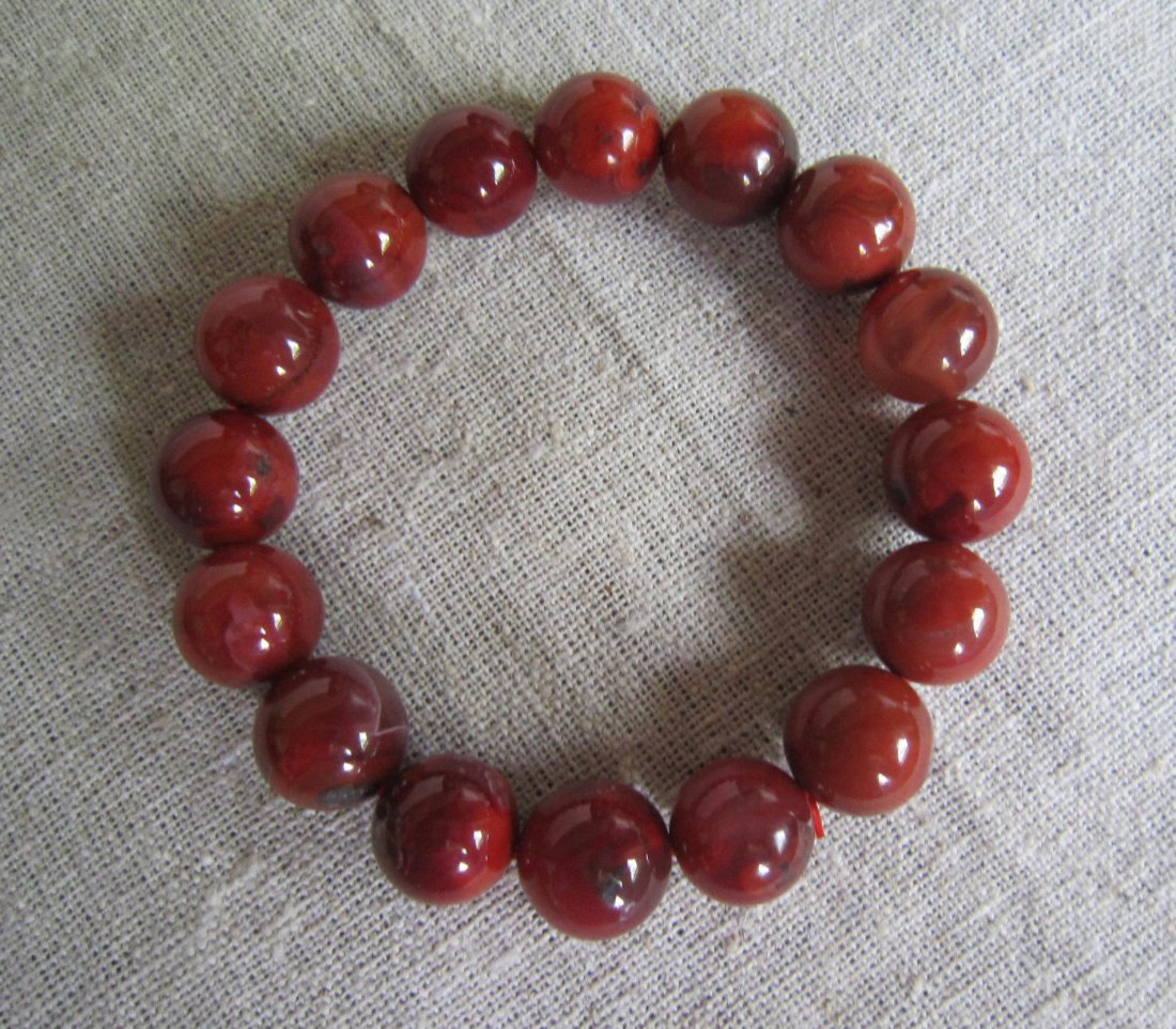 South Red Agate Bracelet