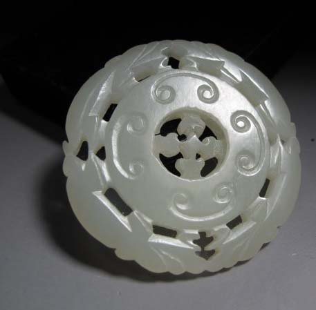 Qing Dynasty Hetian Jade Four Mice Turning Money Fate