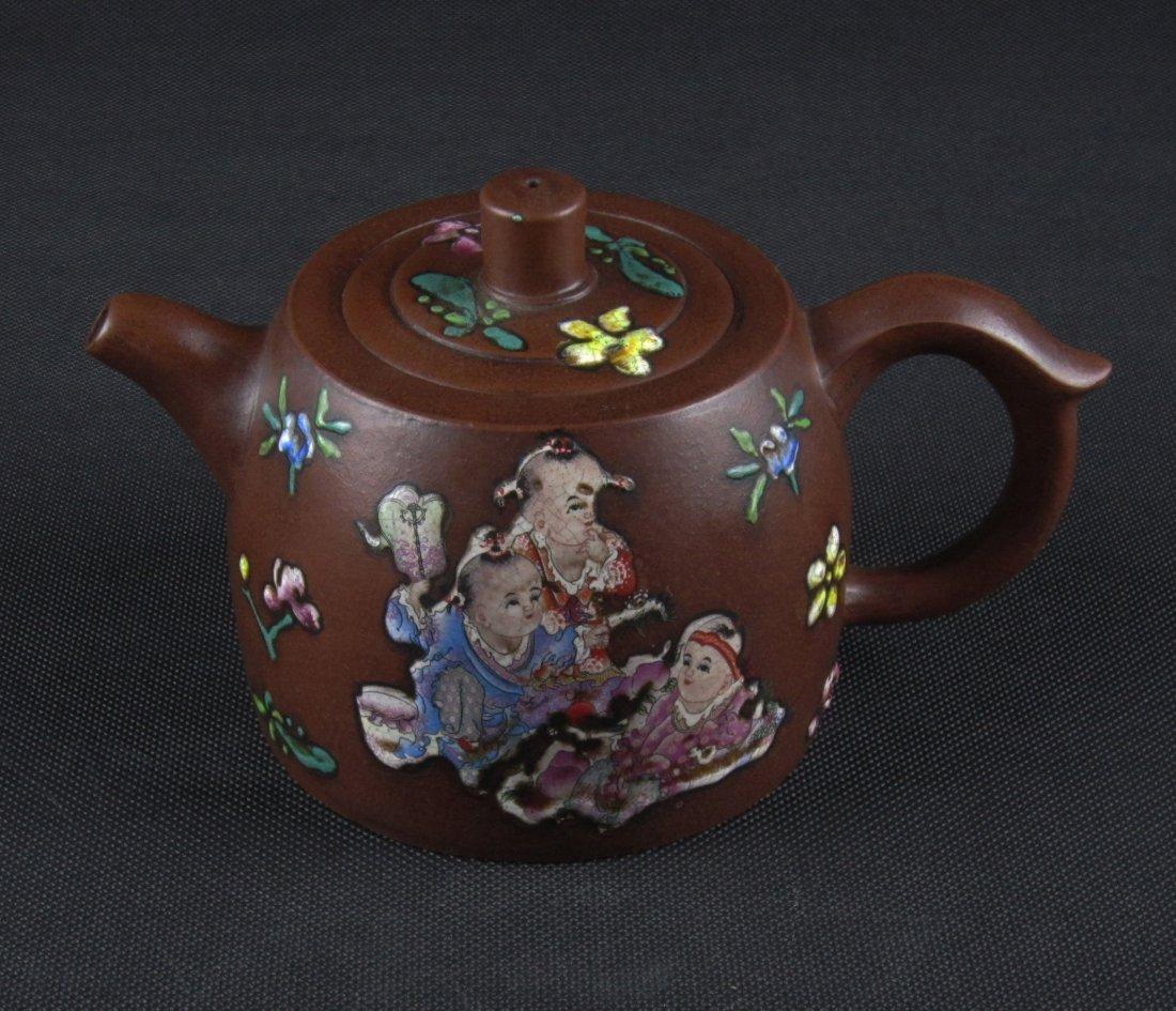 Nice Zisha Tea Pot With Mark