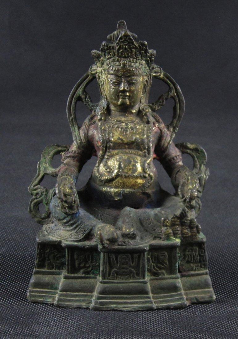 Gilt Buddha with Nice Colours