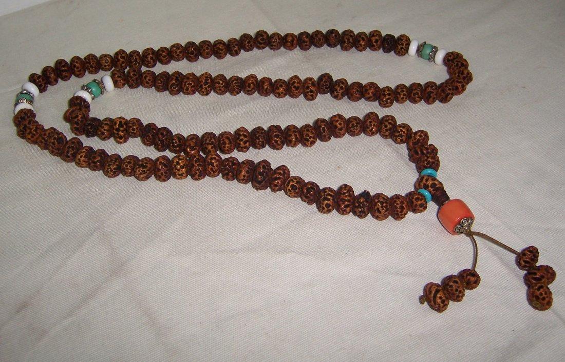 Tibet eminent monk Antique Bodhi Beads