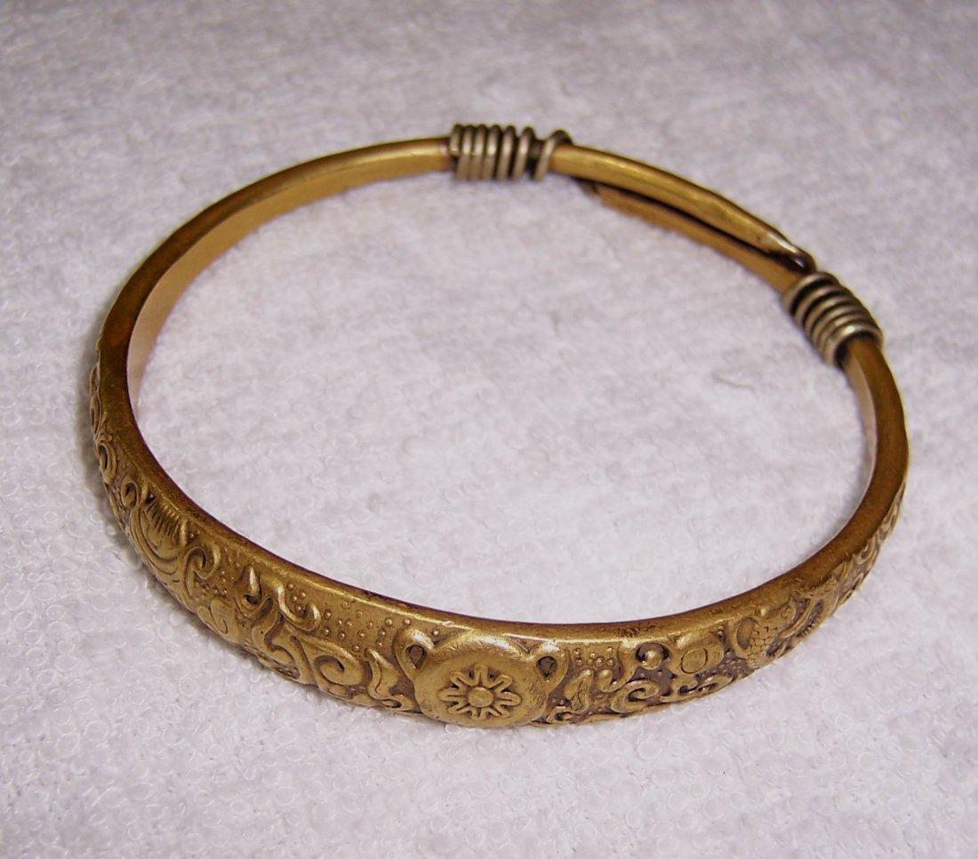 A Marvelous Antique  Silver Bracelet