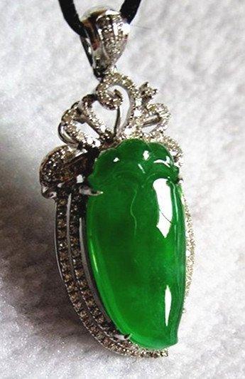 Collectiona Level,18K White Gold,Diamonds, Full Green J