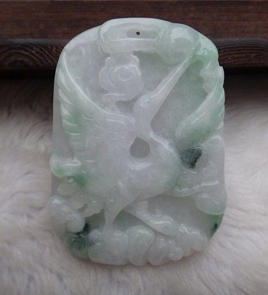 An Nie Jadeite Pandent With Certificate