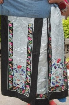 A Nice Antique Embroidered Skirt