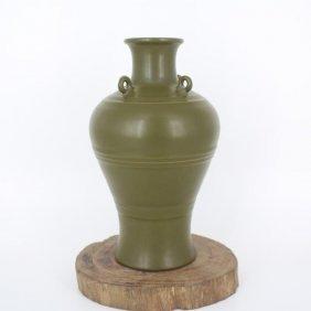 A Nice Chinese Tea-dust Glaze Bottle