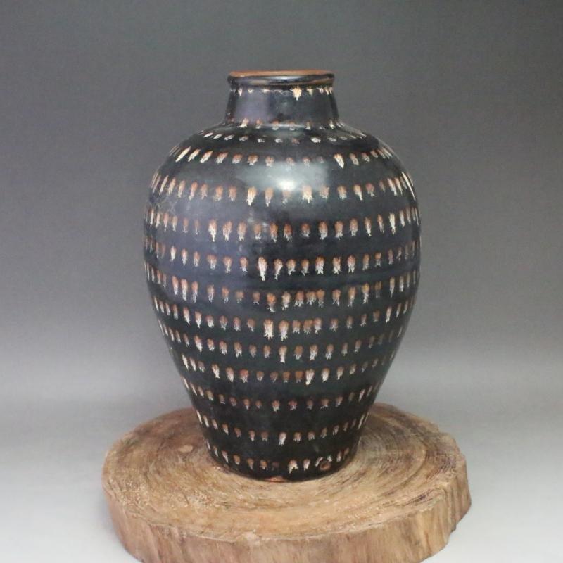 A Nice Jizhou Kiln Porcelain Meiping