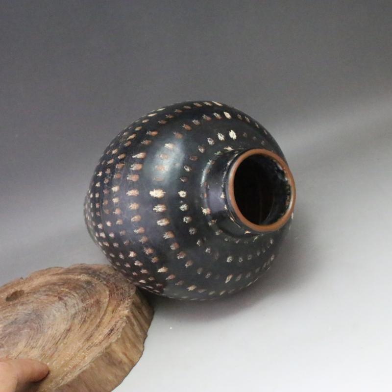 A Nice Jizhou Kiln Porcelain Meiping - 2