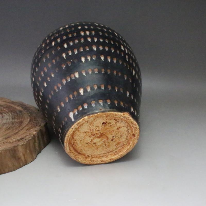 A Nice Jizhou Kiln Porcelain Meiping - 3