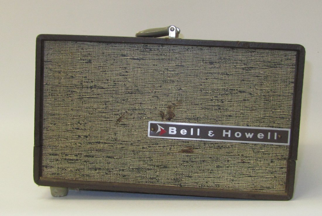 1: Vintage Bell & Howell Slide Projector