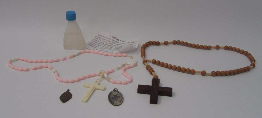 12: Misc Beaded Rosaries'
