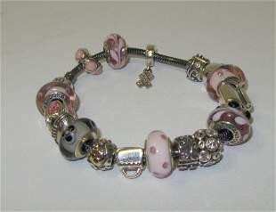 Pandora Sterling Silver Best Friends Bracelet