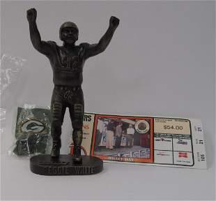 Mini Bronze, #92 Reggie White 9/18/2005