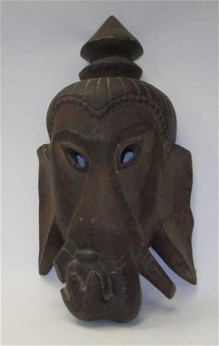 Wooden Ritual Mask