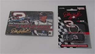 Dale Sr. 24K Gold Signature Card and Keychain