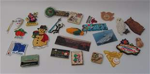 Lot Of 24 Various Refrigerator Magnets