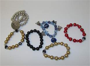 Lot of 6 Bracelets