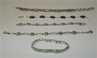 Lot of 5 Womens Bracelets