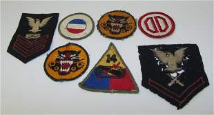 Misc Military WWII Patches