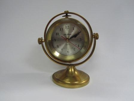 Seth Thomas Model 1044 Schooner Brass Clock