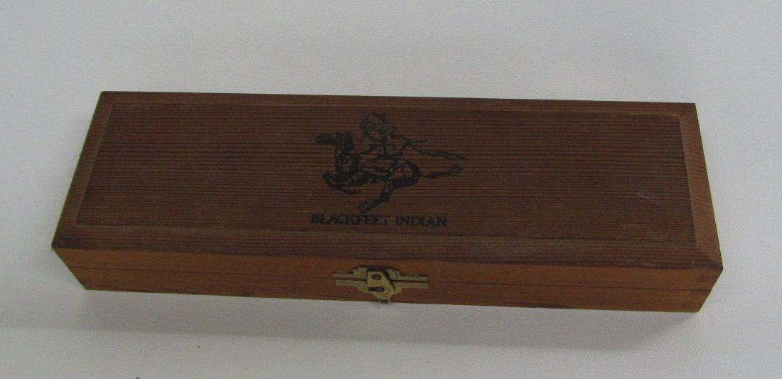 Full Box Of Blackfeet Indian Pencils in Case