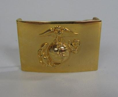 Gold Colored Marine Belt Buckle