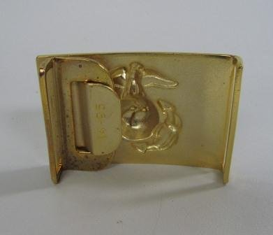 Gold Colored Marine Belt Buckle - 2