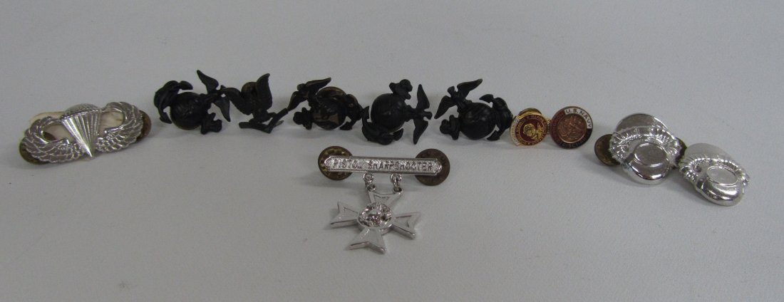 Large Lot of Misc. Military Pins