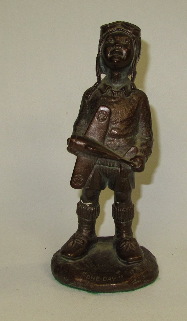 """Anthony Solvang 1988 """"One Day"""" Figurine"""