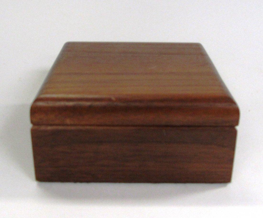 Solid Cherry Wood Gentleman's Box