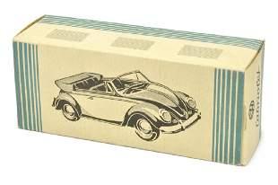 Leerkarton fuer VW Kaefer Cabrio (Vorserie)
