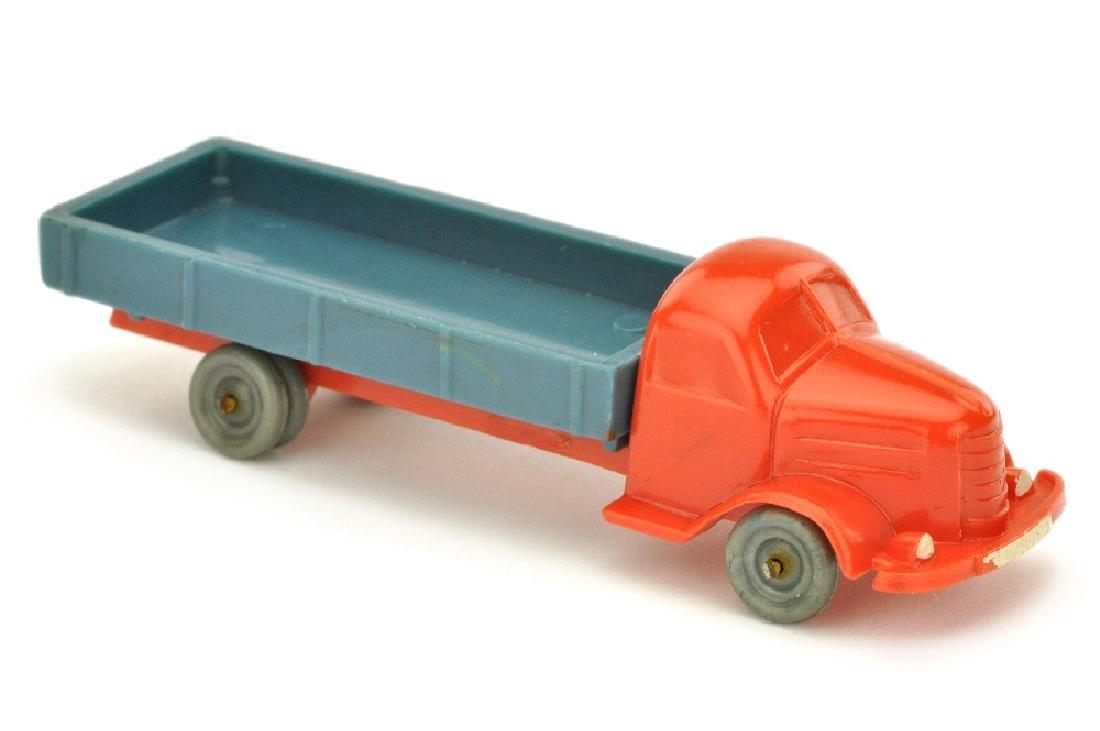 Dodge Pritsche, orangerot/mattgraublau