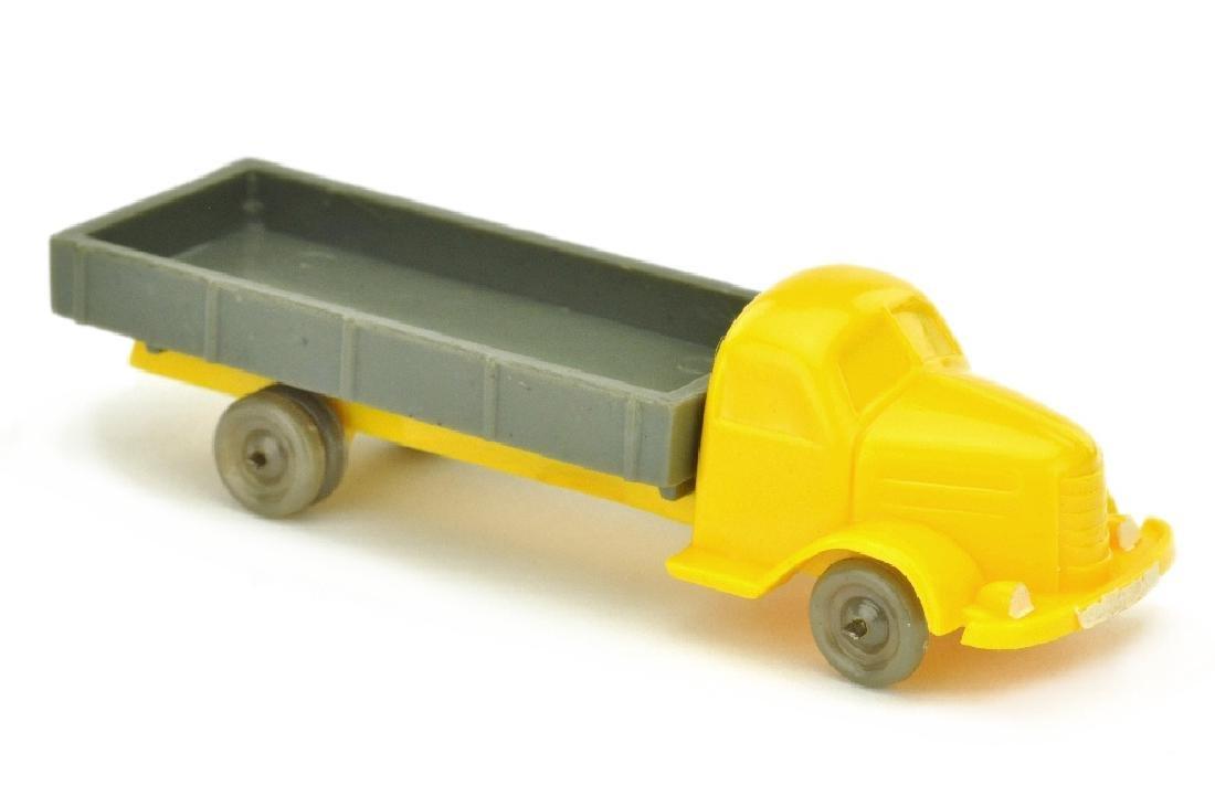 Dodge Pritsche, gelb/betongrau