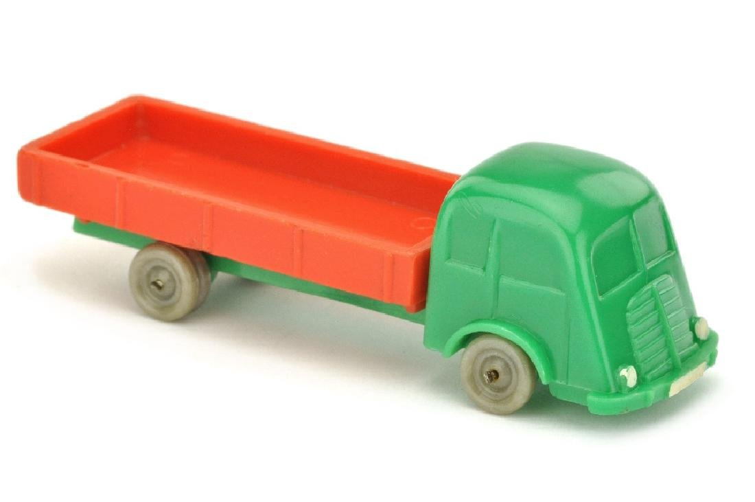 Fiat Pritsche, gruen/orangerot