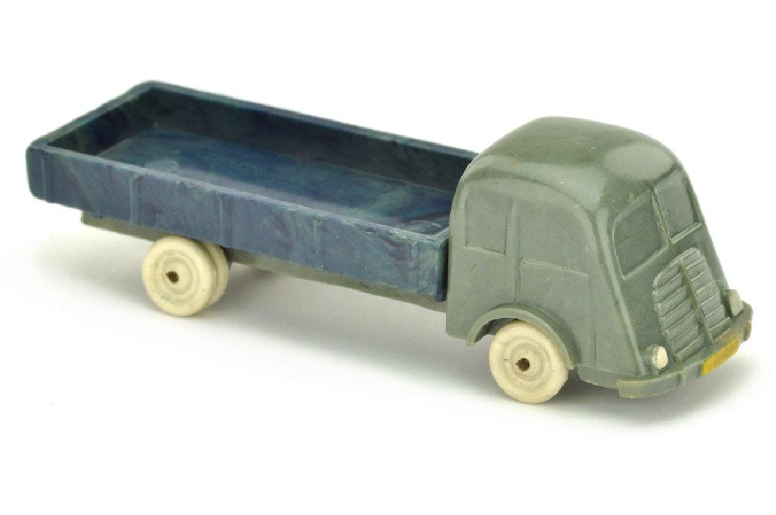 Fiat Pritsche, betongrau/misch-dunkelblau