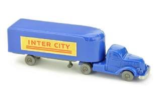 Sattelzug White (Typ 1) Inter City, ultramarin