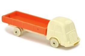 Fiat Pritsche, cremeweiss/misch-orange