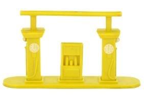 Kleine Tankstelle (Typ 1), gelb
