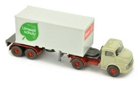 Bayer - Container-Sattelzug MB 1413