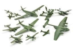 Konvolut 12 deutsche Flugzeuge Dr Grope