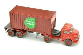 """Container-Sattelzug MB 1413 """"Bayer"""""""