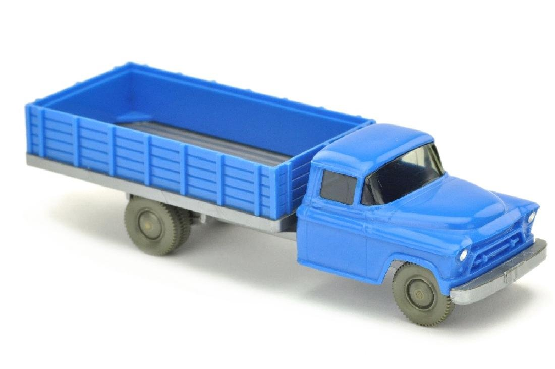 Chevrolet geschlossener Aufbau, himmelblau